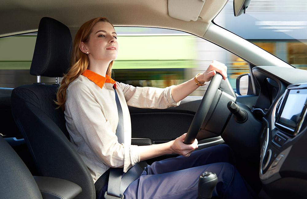 radost z jízdy v Suzuki Baleno