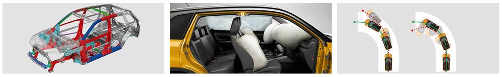 bezpečnostní prvky Suzuki Vitara