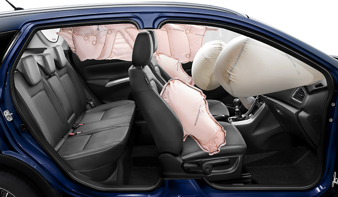 airbagy v Suzuki S Cross