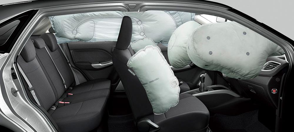 airbagy v Suzuki Baleno