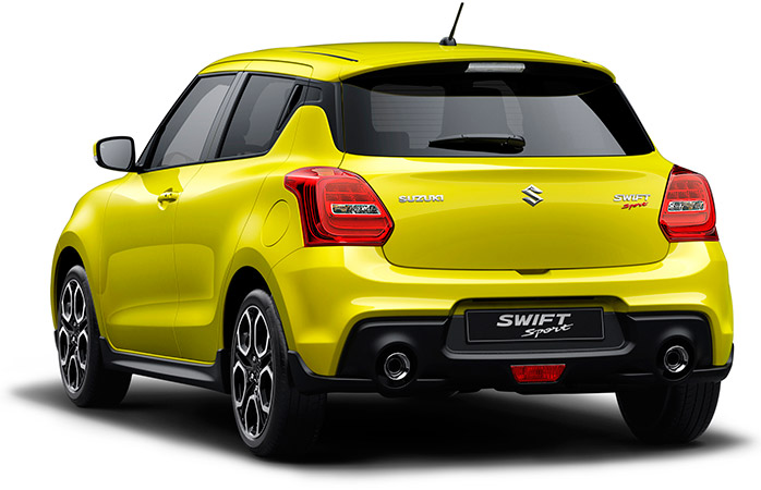 suzuki swift sport 2019 zezadu