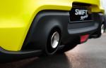suzuki swift sport - detail výfuku