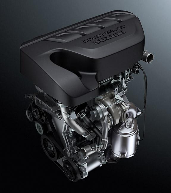 Suzuki Vitara S - motor