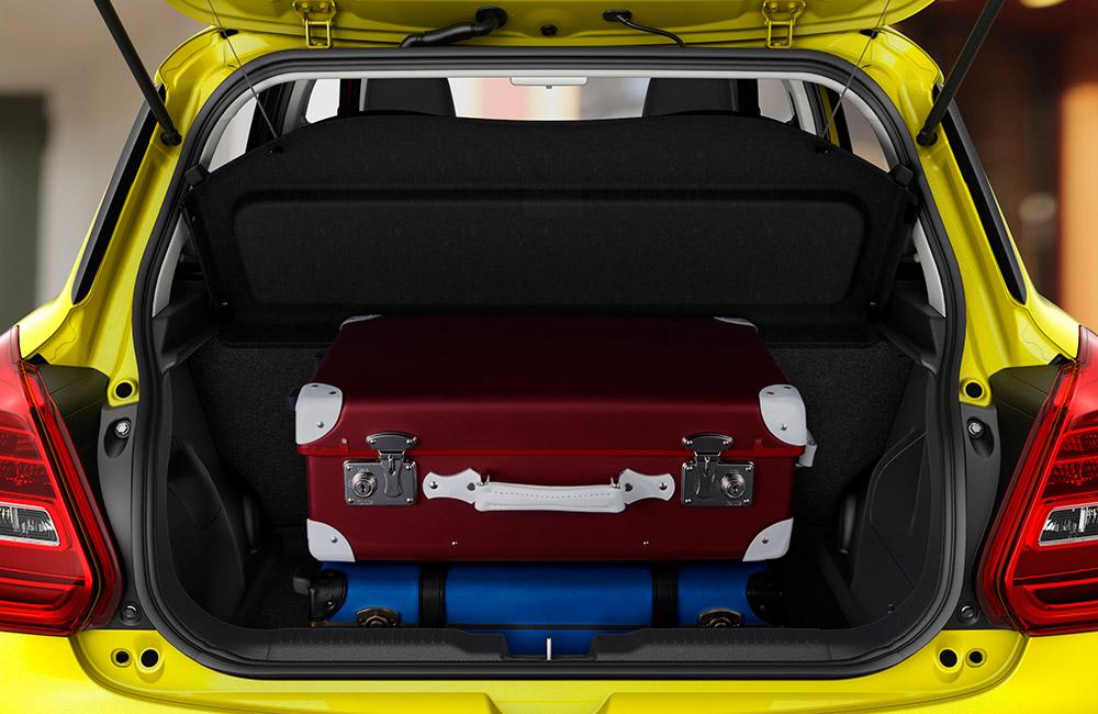 zavazadelník Suzuki Swift Sport